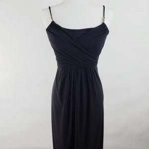 Lauren Ralph Lauren Dress Black Maxi Gown Size 2